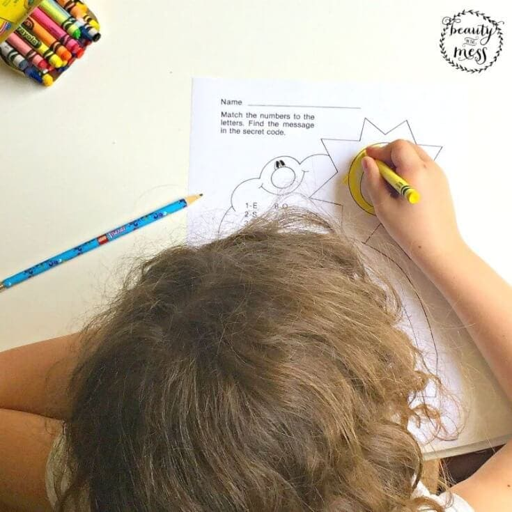 Beat Summer Brain Drain with Just 15 Minutes a Day Coloring-2