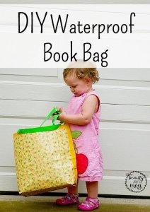 DIY Waterproof Book Bag with DUCK TAPE sponsored -2