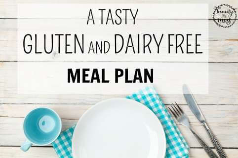 Gluten and Dairy Free Meal Plan FB