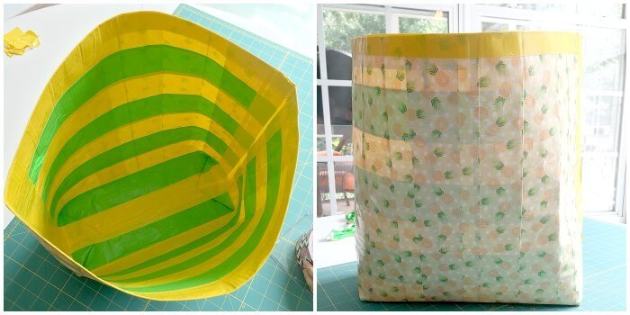 Inside and Outside DUCK TAPE bag-2