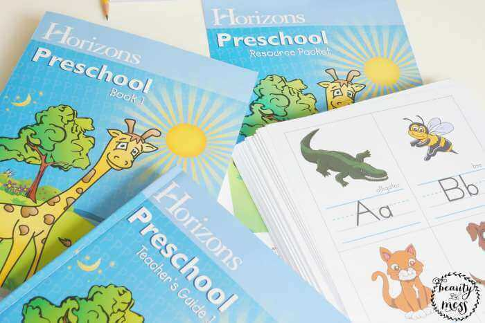 Horizons Preschool Book 1 Teacher Guide 1 Resource Packet-2