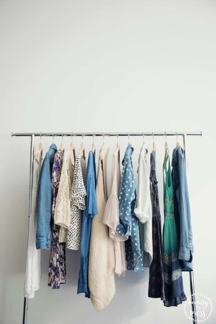easy capsule wardrobe
