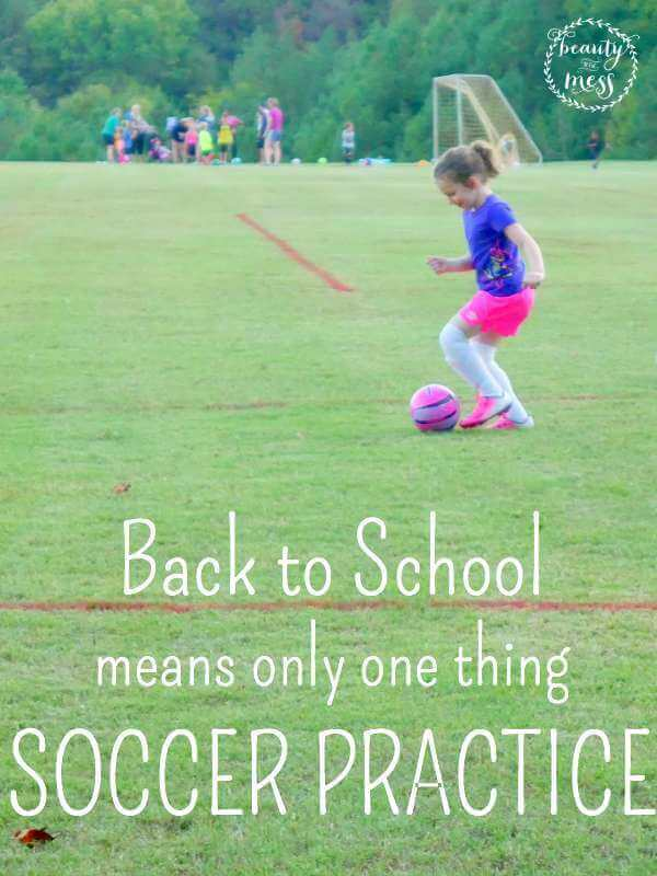 Back to School means SOCCER PRACTICE-2