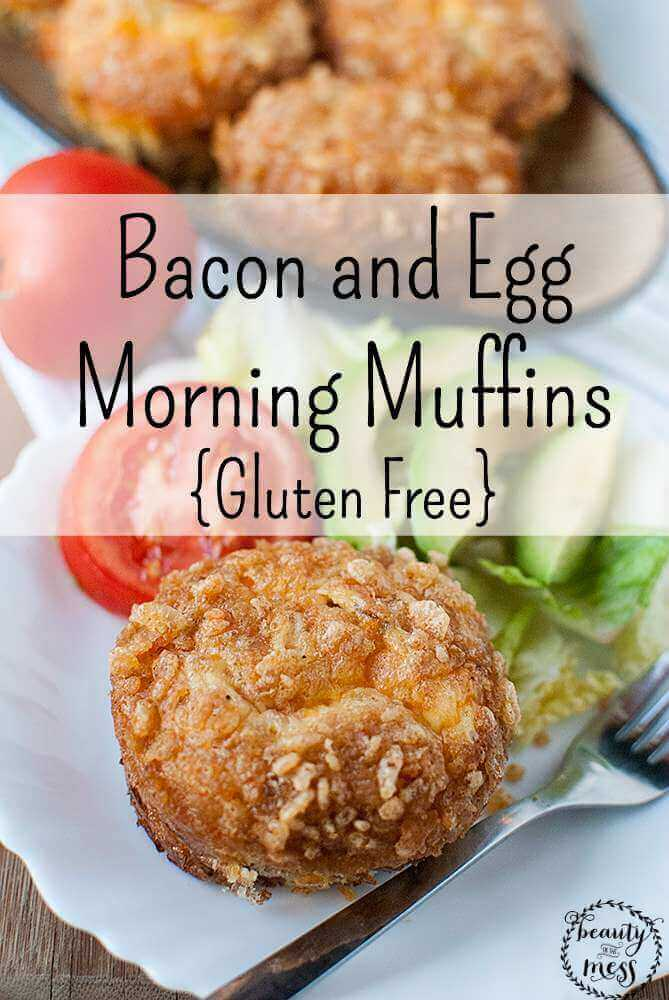 Bacon and Egg Morning Muffins {Gluten Free}
