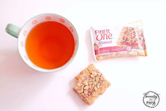 FiberOne Streusel Tea Time