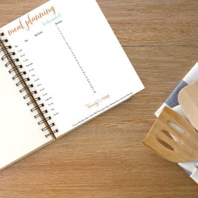 Simple, Healthy, Realistic, and Budget-Friendly Meal Planning for the Busy Mom