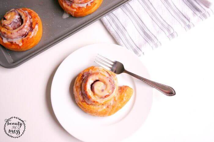 Bake Cinnamon Rolls for Guests