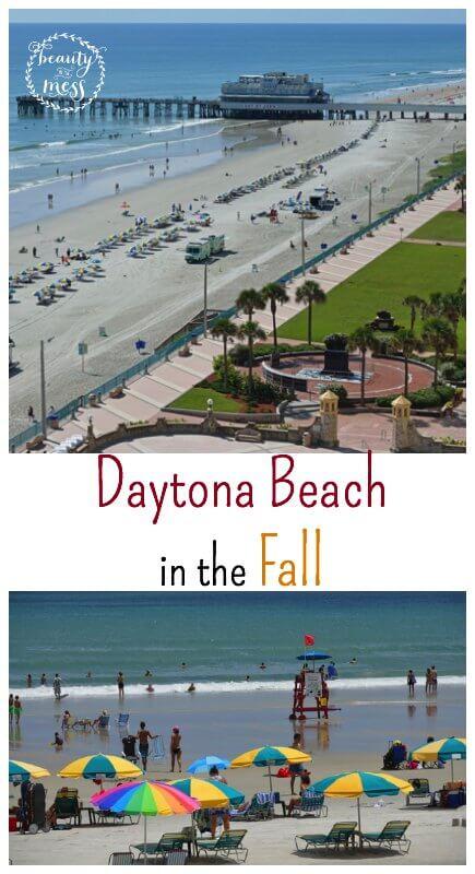Daytona Beach in the Fall