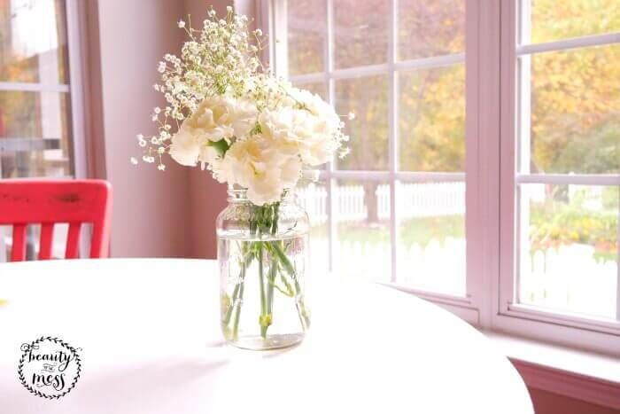 Fresh Flowers for House Guests