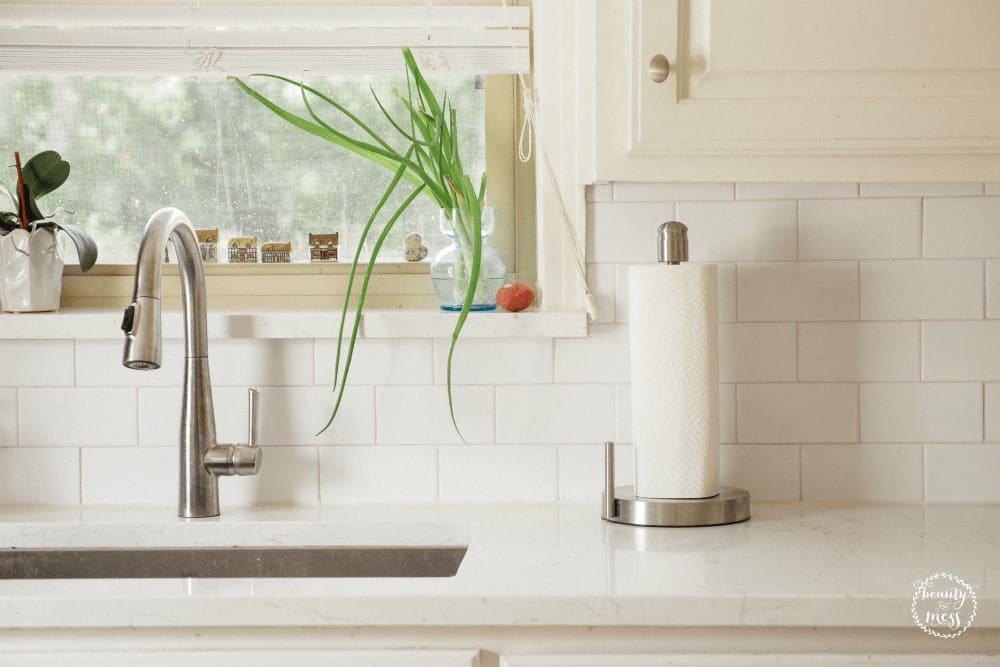 Kitchen Sink Clean Reset Day