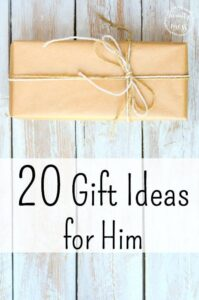 20 Gift Ideas for Him {and a GIVEAWAY}