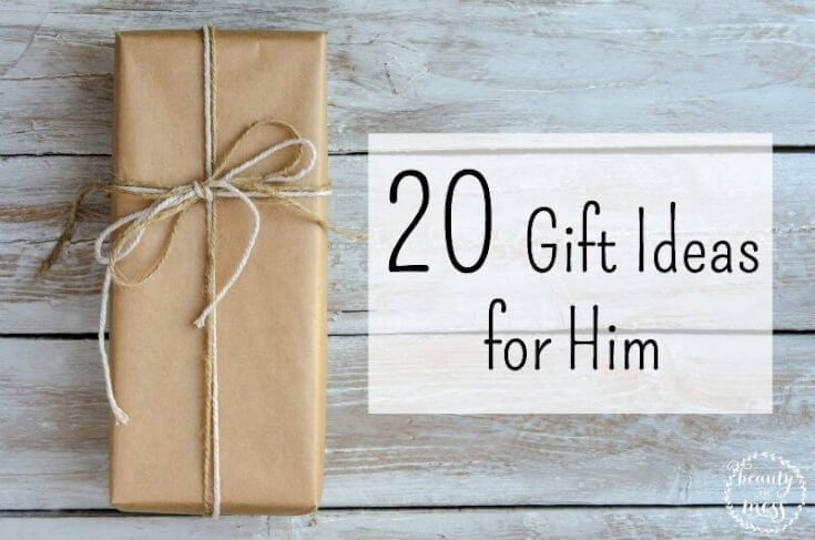 20 Gift Ideas for the Men in your life