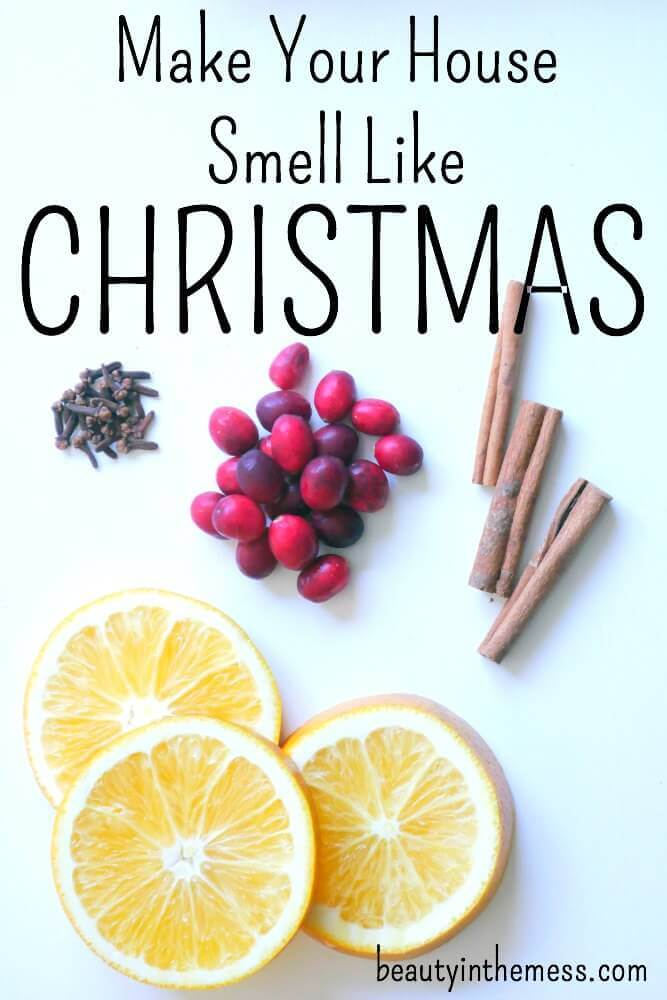 Not only does it make you house smell like Christmas – but it is really pretty [visually] and sets the Christmas mood! There's truly no 'recipe' – I remember researching online and trying different 'recipes' and some didn't even work.
