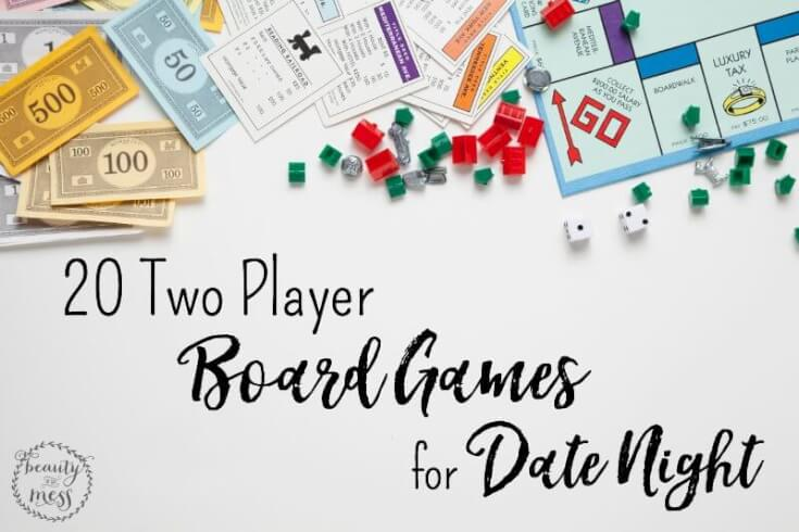 20 two player board games for date night