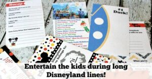 The Best Way to Keep Kids Busy at Disneyland