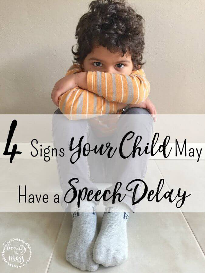 4 Signs Your Child May Have a Speech Delay