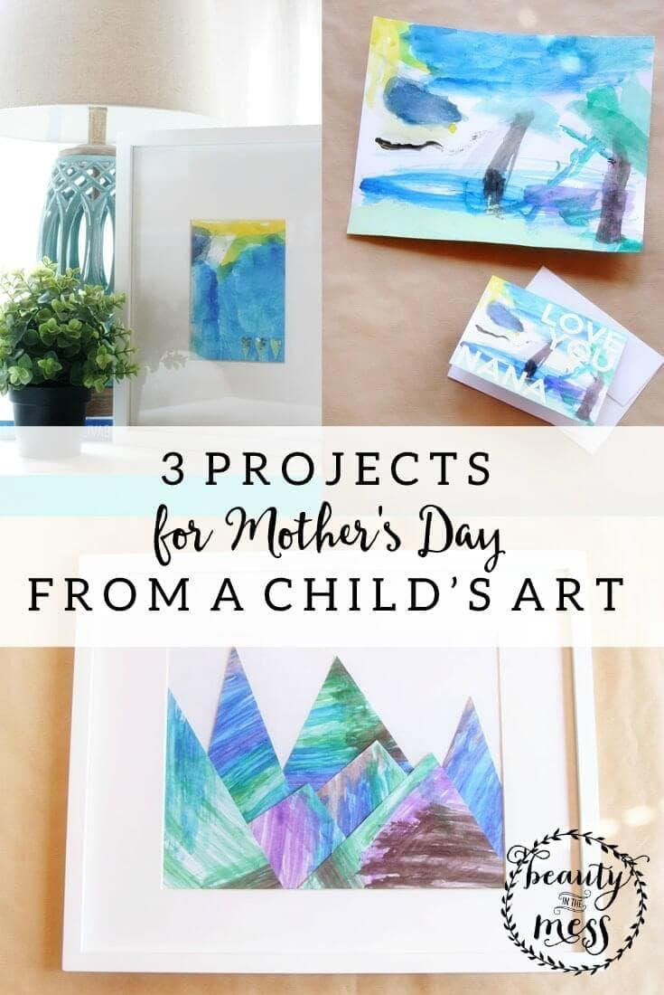 3 Projects for Mother's Day - Beauty in the Mess