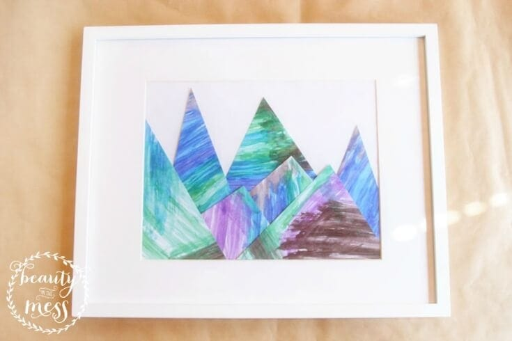 Childs Art Mountain - Beauty in the Mess