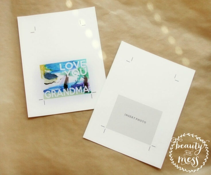DIY Mother's Day Cards - Beauty in the Mess