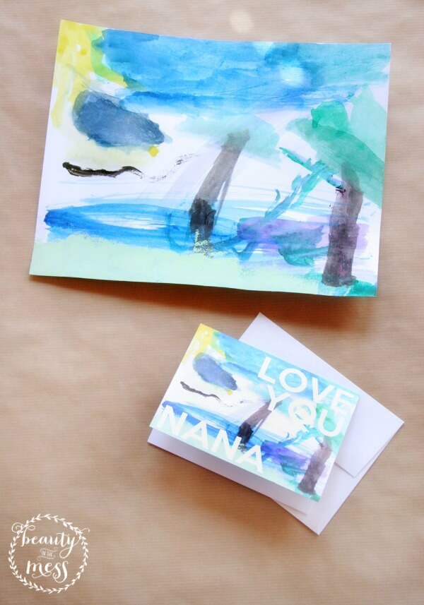 Mother's Day Cards - Beauty in the Mess