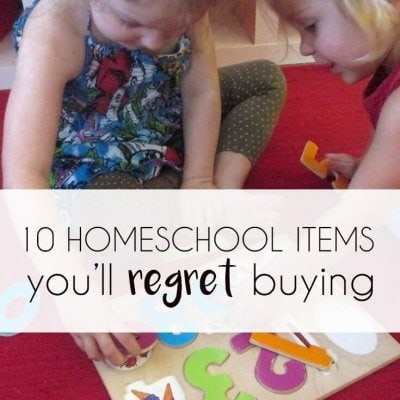 10 Things You'll Regret Buying for Your Homeschool Room