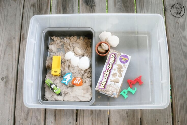 DIY Portable Sandbox 1