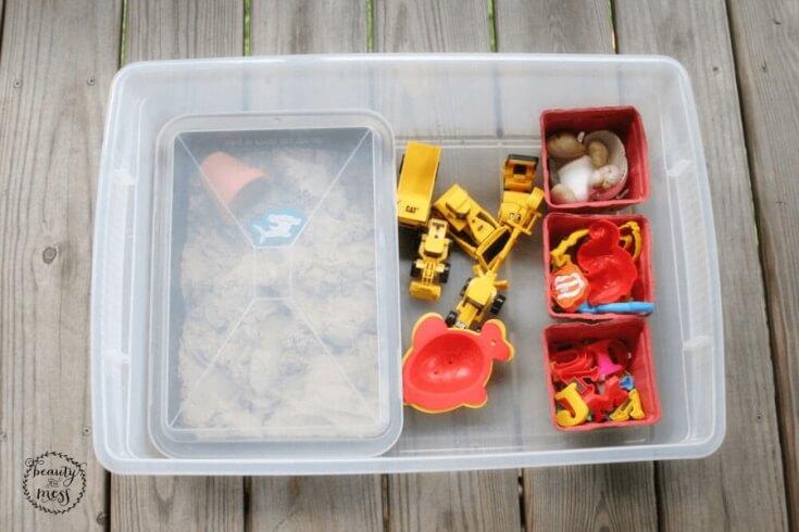 DIY Portable Sandbox 2
