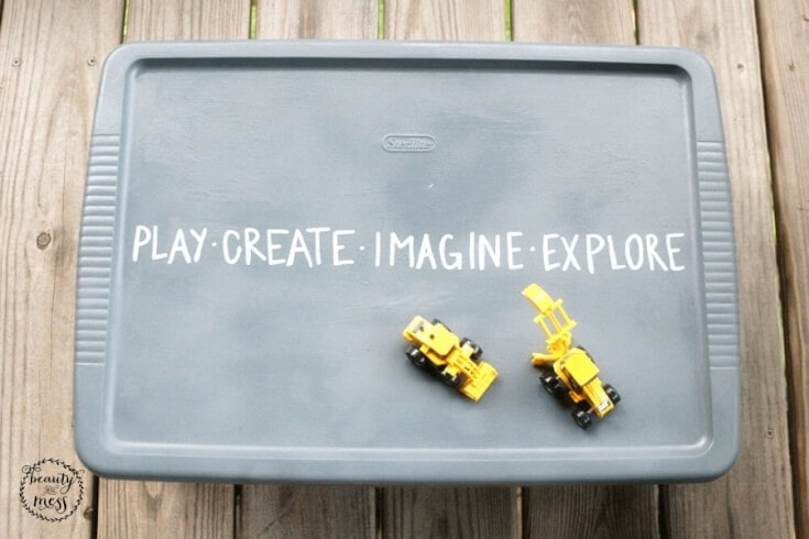 DIY Portable Sandbox 3