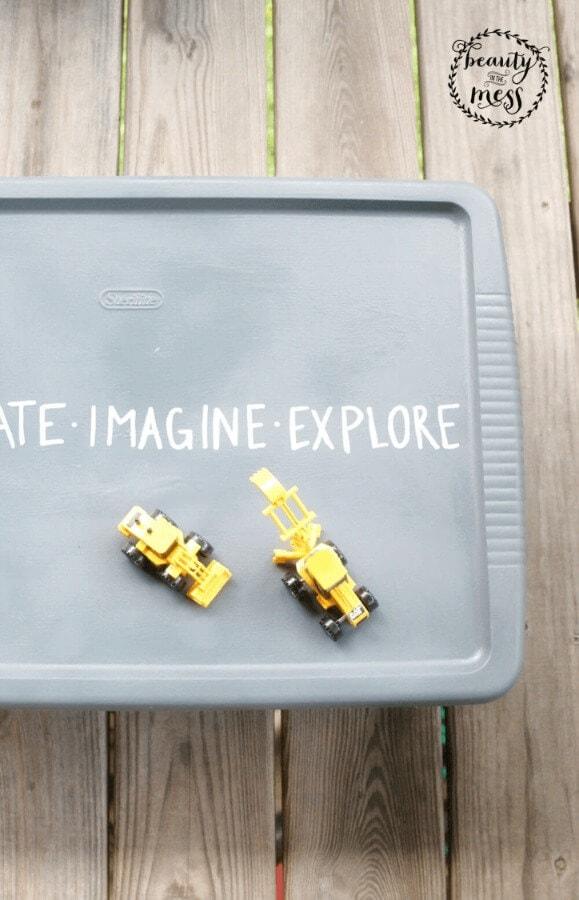 DIY Portable Sandbox 5
