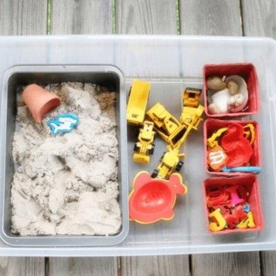 DIY Portable Sandbox