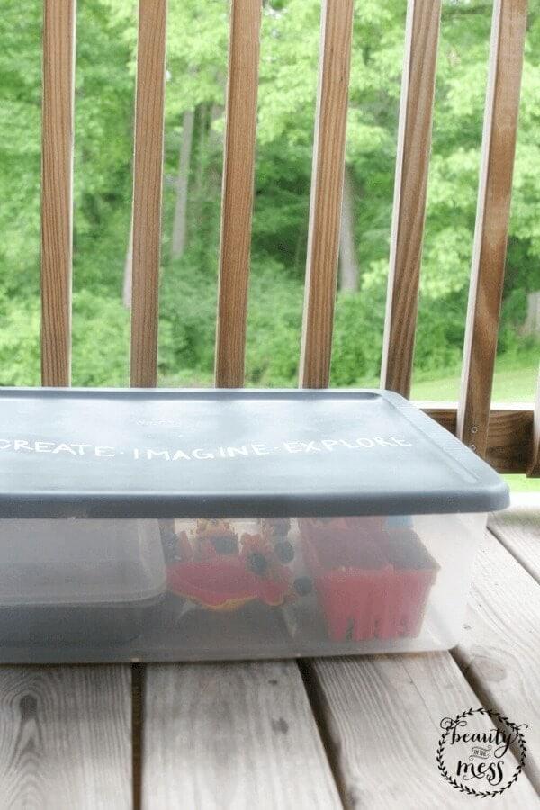 DIY Portable Sandbox 7