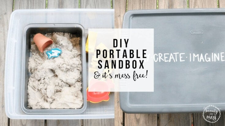 DIY Portable Sandbox FB