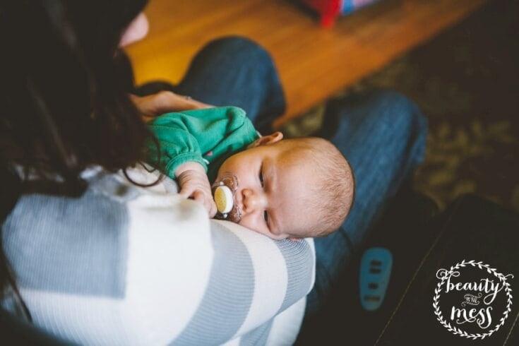 Motherhood when it feels like the world is ending