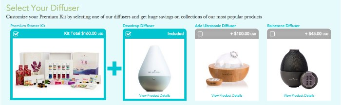 Select Your Diffuser