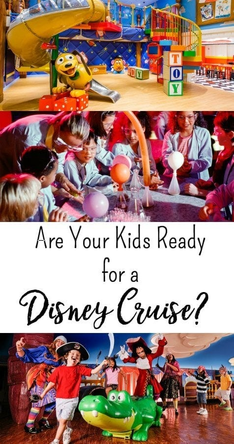 If you are looking to plan a family cruise, you want to be sure they are ready for the experience and it will be worth the money you spend. Are your kids ready for a Disney Cruise?Take a look below at a few questions to ask yourself before planning a Disney Cruise. When you answer these questions, you might be able to decide if a Disney Cruise is right for you.