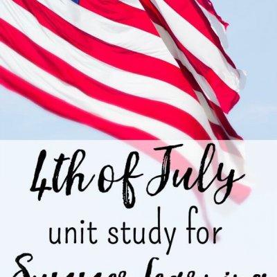 Free 4th of July Unit Study