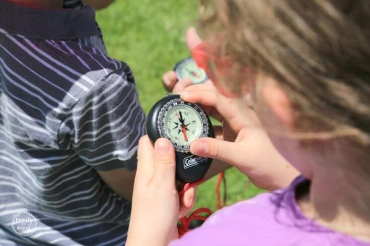 Find Your Park Compass