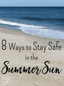 5 ways to stay safe in the sun Follow our checklist to keep everyone happy and burn-free this summer Spend time in the shade between 11AM and 3PM: This is when the sun is at its strongest – even in the UK and even when it's cloudy, as clouds do not block damaging rays.