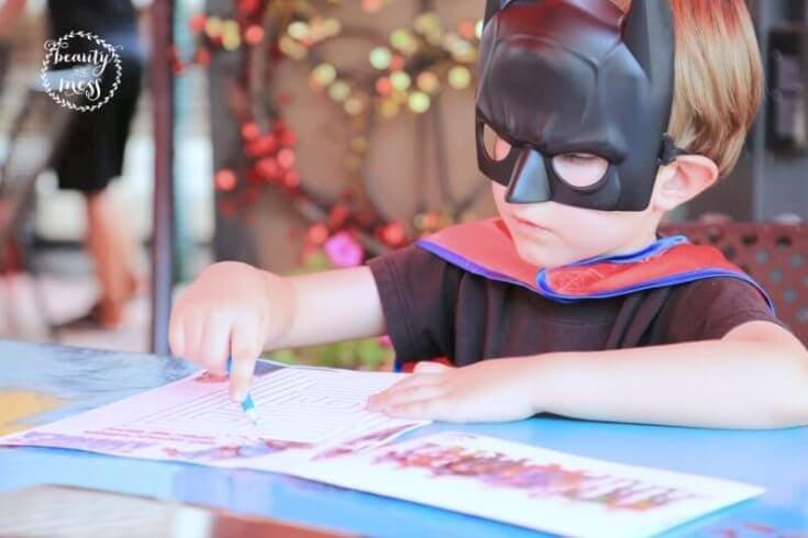 Batman coloring