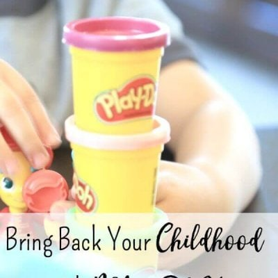 Bring Back Your Childhood with PLAY-DOH