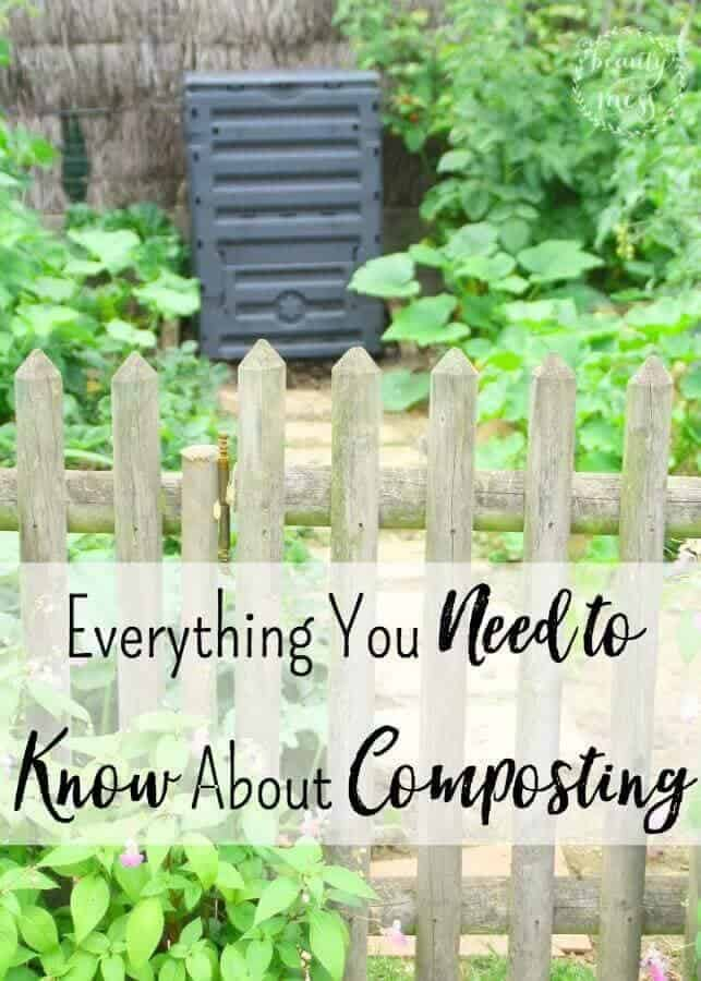Everything you need to know about starting your very own compost pile in your backyard. Learn the ratio you need for successful compost, as well as how to get started with worm composting! It's easier than you might think! via @simplifyingfamily