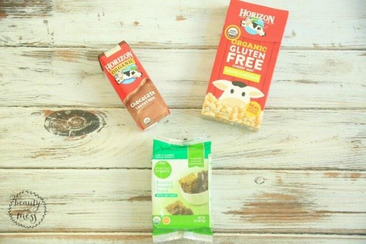GF Mac and Cheese Seaweed Chocolate Milk