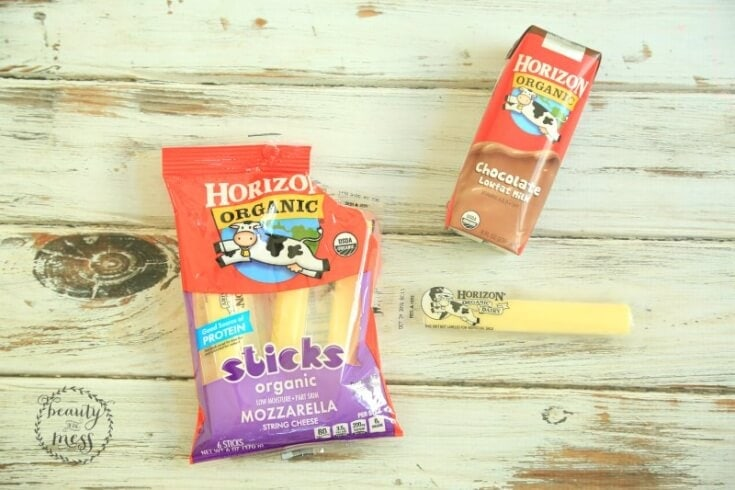Horizon Cheese Stick and Chocolate Milk Afternoon Snack