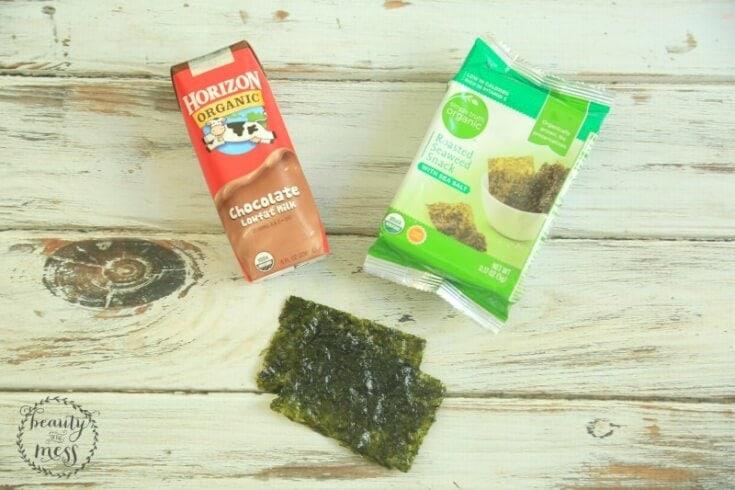 Seaweed Afternoon Snack