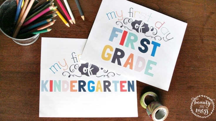 first day of school printable signs FB_1280x720