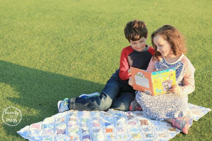 Back to School with Mini Boden Reading