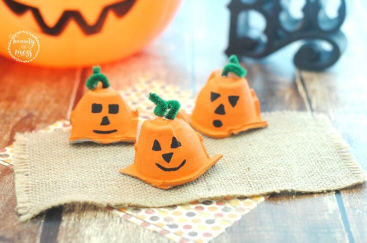 Happy Pumpkins for Fall