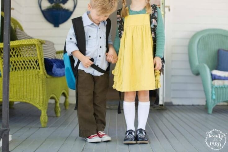 Survive Sending Your First to Kindergarten