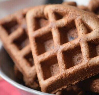 Delicious Gluten-Free Hazelnut Waffles for Breakfast