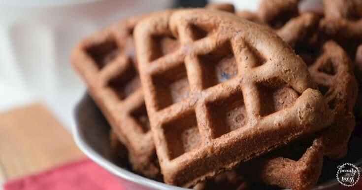 Gluten Free Hazelnut Waffles